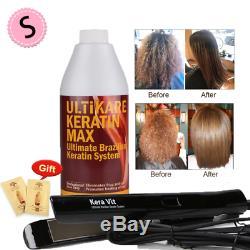 1000Ml Chocolate Brazilian Keratin Treatment 8% Keratin Hair Straightening+Hair