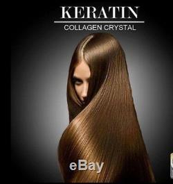 100 % Authentic Keratin Brazilian Hair Collagen Krystal Treatment up to 8 Months