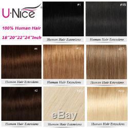 10A 100S Pre Bonded Keratin Fusion Nail U Tip Human Hair Extensions1g/s 50g 100g
