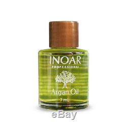 2 Liter Ghair Moroccan Brazilian Keratin Treatment Blow Dry Hair Free Inoar Oil