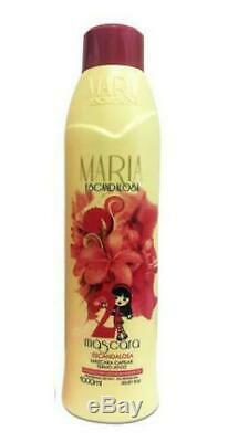 4 Liters Maria Escandalosa Brazilian Keratin Treatment Only Hair Straightening