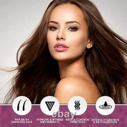 Agi Max Brazilian Natural Keratin Hair Treatment Kit for Straightening Curls and