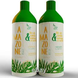 Amazone Bio Organic Brazilian Keratin Treatment Blowout 2x1000ml Zap Cosmetics