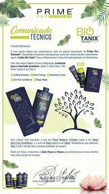 BIO TANIX PRIME EXTREME KERATIN BRAZILIAN NO FORMOL Professional 3 products
