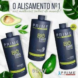 BIO TANIX PRIME EXTREME KERATIN BRAZILIAN NO FORMOL Professional kit