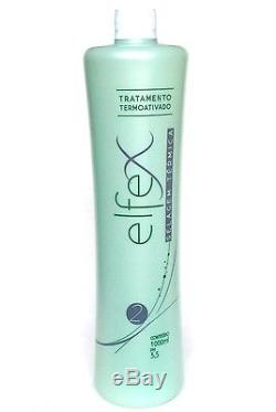 BRAZILIAN KERATIN ELFEX HAIR SMOOTHING BLOWOUT 34 oz (1000ml) STEP 2 ONLY