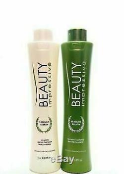 Beauty Impressive Brazilian Keratin Treatment 1L 33fl. Oz