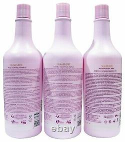 Botohair by INOAR step Brazilian Hair Keratin Treatment 3/33.8oz each bottles