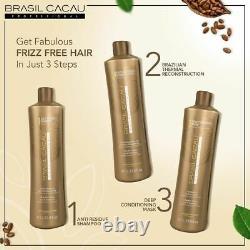 Brasil Cacau Brazilian Keratin Hair Treatment Blowout Kit