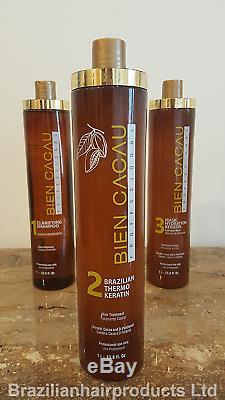 Brazilian Bien Cacau Keratin Smoothing Hair System