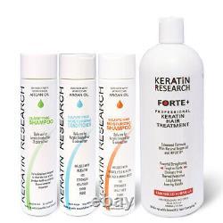 Brazilian Blowout Comple Extra Strength Keratin Forte KIT 1000ml treatment USA