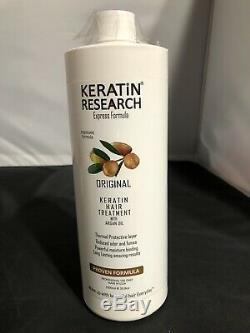 Brazilian Blowout Original Keratin Hair Treatment 1000ml Express Formula NEW P2