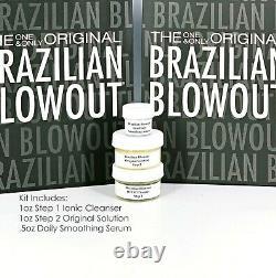 Brazilian Blowout Original Solution Keratin Treatment 1oz Kit -Same Day Ship