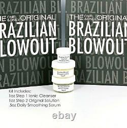 Brazilian Blowout Original Solution Keratin Treatment Kit (1oz) / Fast Shipping