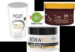 Brazilian Btox Hair Felps Professional Formaldehyde Free Smoothing Treatment