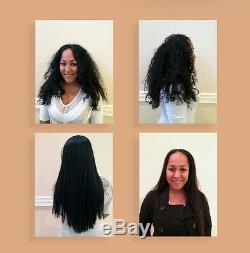 Brazilian Complex Hair Keratin Treatment Set 1000ml, Dual Voltage Iron, + More