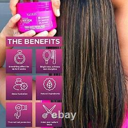 Brazilian Hair Bottox Expert Thermal Mask 8.8 oz Contains Marine Collagen and
