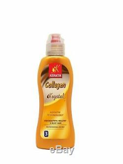 Brazilian Hair Keratin Collagen Treatment Set 4 pc up to 8 Month Guarantee