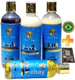 Brazilian Hair Treatment Ccrp 4 Steps Capillary Schedule Bio Robson Peluquero