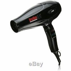 Brazilian Heat BBH3202 After Dark Titanium Ionic Keratin Safe Hair Dryer, 1900