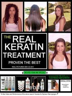Brazilian Keratin Blowout Straightening Smoothing Hair Treatment 4 Bottles300ml