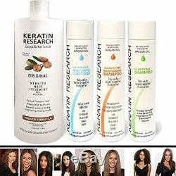 Brazilian Keratin Blowout Straightening Smoothing Hair Treatment 4 Bottles 1000m