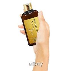 Brazilian Keratin Cure Gold Honey Bio Protein 0% Hair Treatment 5Piece Kit 4 oz