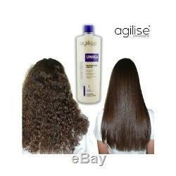 Brazilian Keratin Hair Straightener Formaldehyde Free Treatment Unika Agilise