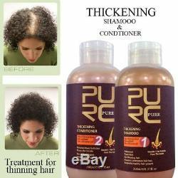 Brazilian Keratin Hair Straightening Treatment Shampoo Conditioner For Hair Loss