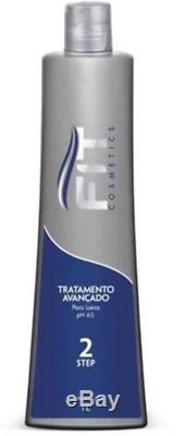 Brazilian Keratin Step 2 Advanced Hair Treatment for Blondes 1L Fit Cosmetics