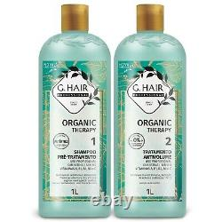 Brazilian Keratin Straightening Treatment, Organic Therapy, Brazilian BlowDry 1L