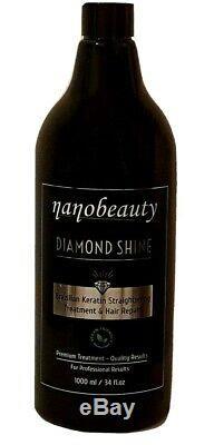 Brazilian Keratin Treatment, Blow Dry Hair Straightening, Diamond Shine 1000ml/1l