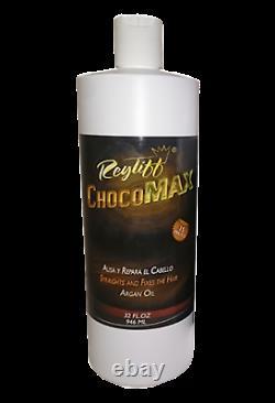 Brazilian Keratin treatment chocomax 12 bottles 32 oz Superstron + Argan oil