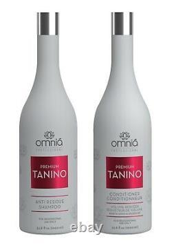 Brazilian Omnia Tanino Hair Straightener Treatment