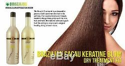 Brazilian Shine Cacau Hair Straightener Treatment Multi Sizes
