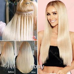 Brazilian Virgin Remy Hair U Tip Pre Bonded Keratin Human Hair Extensions 300s A