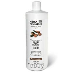 Brazilian complex Blowout hair Keratin Treatment 1000ml with Moroccan Argan oil