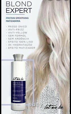 Brazilian keratin hair straightening Blond Hair 33oz
