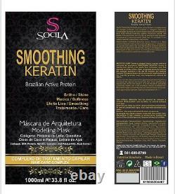 Brazilian keratin, newest organic keratin, smoothing keratin system 33.8oz