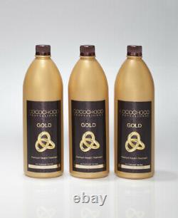 COCOCHOCO 24K Gold Brazilian Keratin 3000 ml