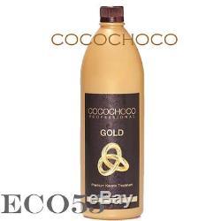 COCOCHOCO GOLD Brazilian Keratin Hair Straightening Treatment 34oz/1000ml