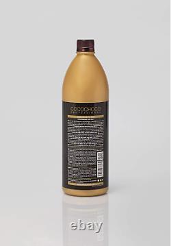 COCOCHOCO Gold Brazilian Blow Dry Hair Straightening Keratin Treatment 1000ml