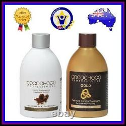 COCOCHOCO ORIGINAL + GOLD Brazilian Keratin Hair Straightening Treatment 250ml