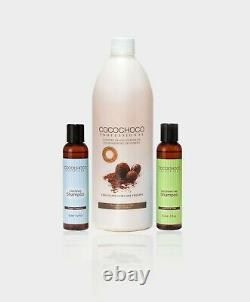 COCOCHOCO Original Brazilian Keratin 1000ml+Clarifying and Sulfate-Free Shampoo