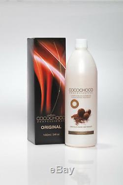 COCOCHOCO Original Brazilian Keratin Hair Treatment 2x 1000 ml Official seller