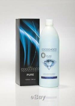 COCOCHOCO PURE BRAZILIAN KERATIN TREATMENT BLOW DRY HAIR STRAIGHTENING 2x 1L SET