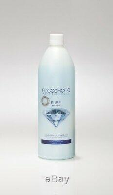 COCOCHOCO Pure1000ml Brazilian Keratin straightening Treatment + Special Gift