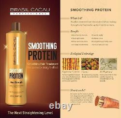 Cadiveu Brasil Cacau Smoothing Protein Brazilian Blow Dry Hair Straightening