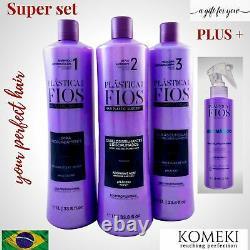 Cadiveu Brazilian Professional Plastica Dos Fios Hair Plastic Keratin Super Set