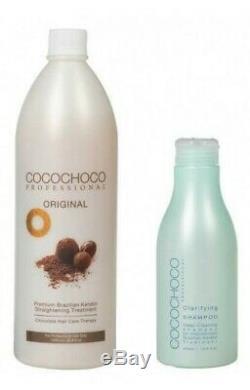 Cocochoco Brazilian Keratin Treatment Blow Dry Hair Straightening 1 Litre Kit
